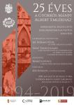 25 éves a Györkös-ház – plakát