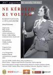 Karády Katalin-emlékest – plakát