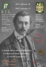 Gróf Bánffy Miklós emlékkiállítás - plakát