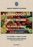 A génmódosítás misztikuma - plakát