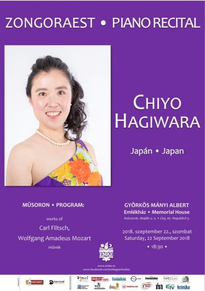 Chiyo Hagiwara előadóest – plakát