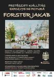 Forster Jakab kiállítás – plakát
