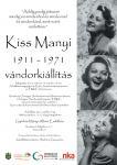 Kiss Manyi kiállítás - plakát