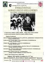 Gyermekkari találkozó - plakát