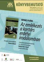 Kovács Flóra-könyvbemutató – plakát