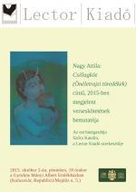 Nagy Attila Csillagköz – könyvbemutató