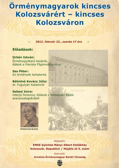 Örménymagyarok - plakát
