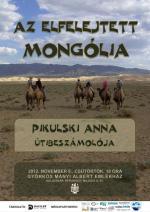 Az elfelejtett Mongólia – plakát