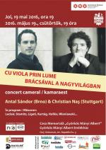 Brácsaduó-koncert