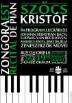 Zongoraest – plakát