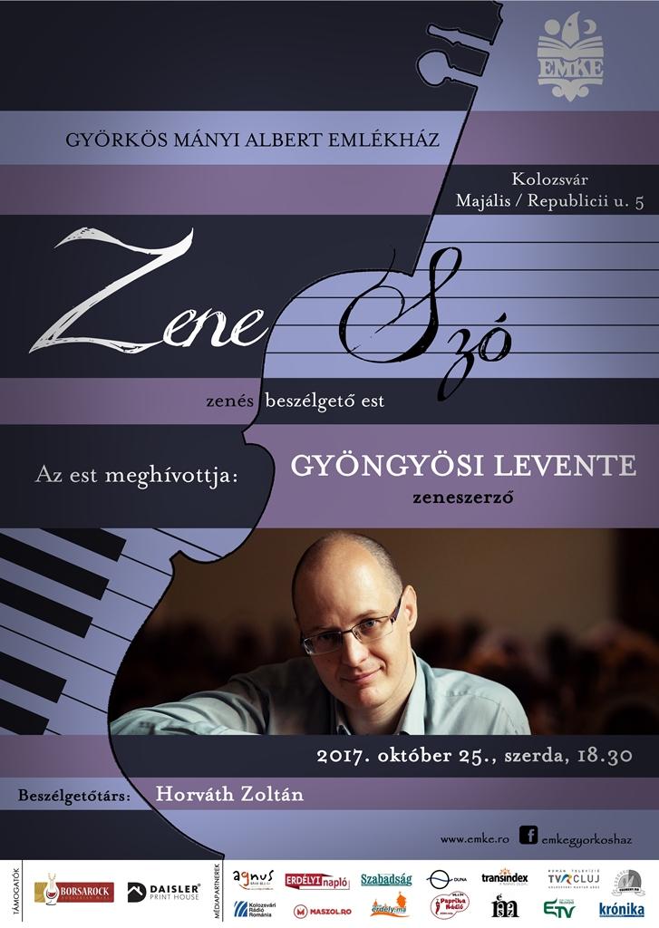 ZeneSzó – plakát